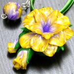Яркий подарок для девушки — украшение, сделанное из полимерной глины