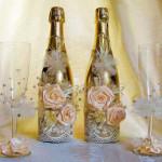 Свадебные фужеры — нежный и романтичный подарок