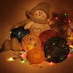 Новогодние шары: делаем из подручных материалов