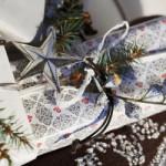 Снежинки, елочки, шишки… Упаковываем новогодние подарки