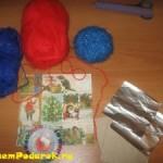 Готовимся к Рождеству: делаем сами рождественскую звезду из ниток, бисера и бумаги