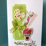 Изящно и с любовью: делаем открытку для мамы, сестры или подруги на 8 марта своими руками